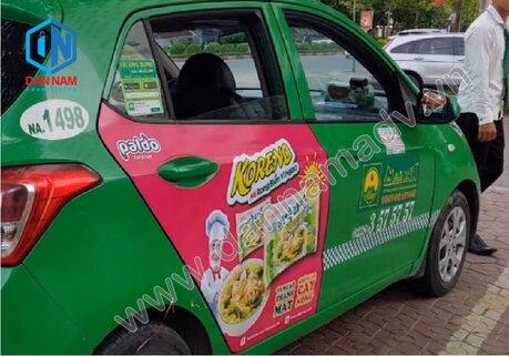 Quảng cáo taxi Phú Yên
