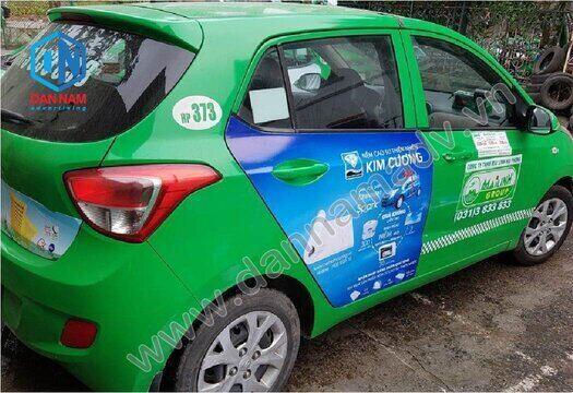 Quảng cáo taxi Quảng Bình