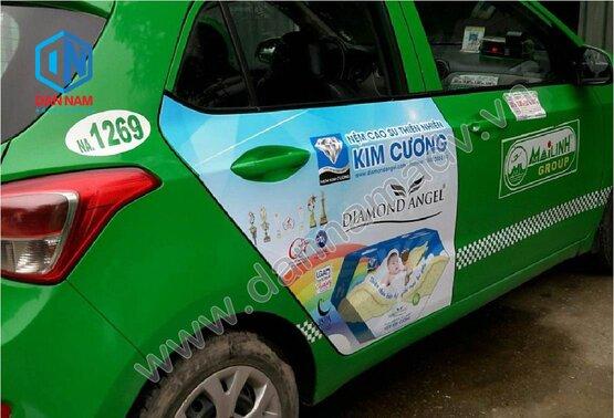 Quảng cáo taxi Quảng Nam