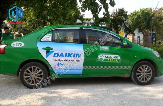 Daikin Quảng cáo taxi Mai Linh Quảng Ngãi