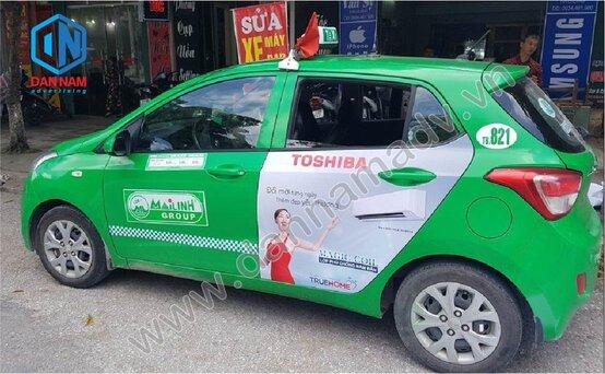 Quảng cáo taxi Quảng Ninh
