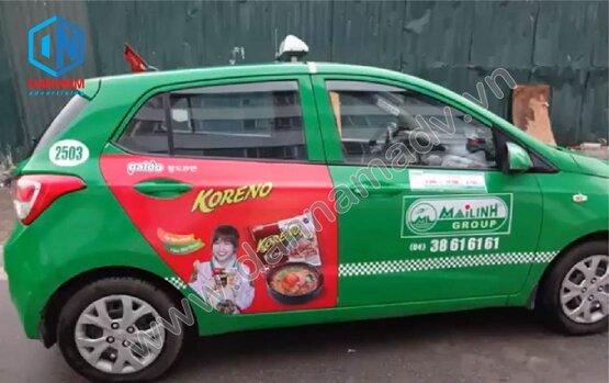 Quảng cáo taxi Quảng Trị