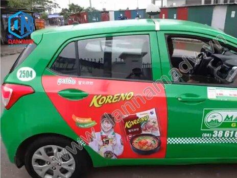 Quảng cáo taxi tại Quảng Trị - taxi Mai Linh