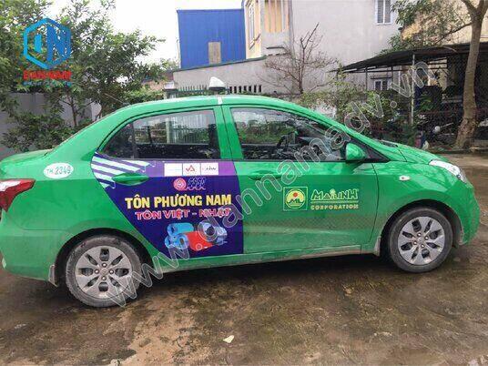 Quảng cáo taxi Mai Linh Quy Nhơn - Tôn Phương Nam