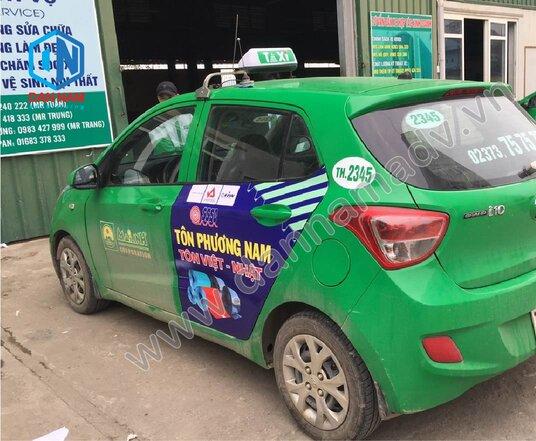 Tôn Phương Nam Quảng cáo taxi Quy Nhơn Bình ĐỊnh