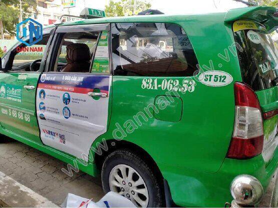 Quảng cáo taxi Sóc Trăng