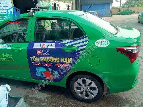 Tôn Phương Nam Quảng cáo taxi Mai Linh Vũng Tàu
