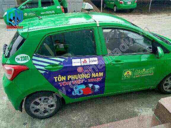 Quảng cáo taxi Vũng Tàu
