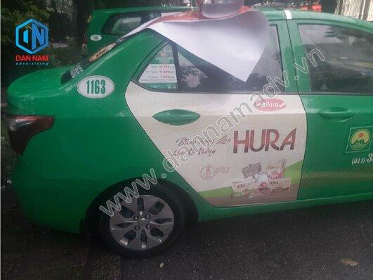 Quảng cáo taxi Mai Linh Tây Ninh - Bánh Bibica