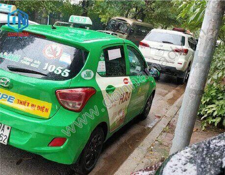 Quảng cáo taxi Tây Ninh