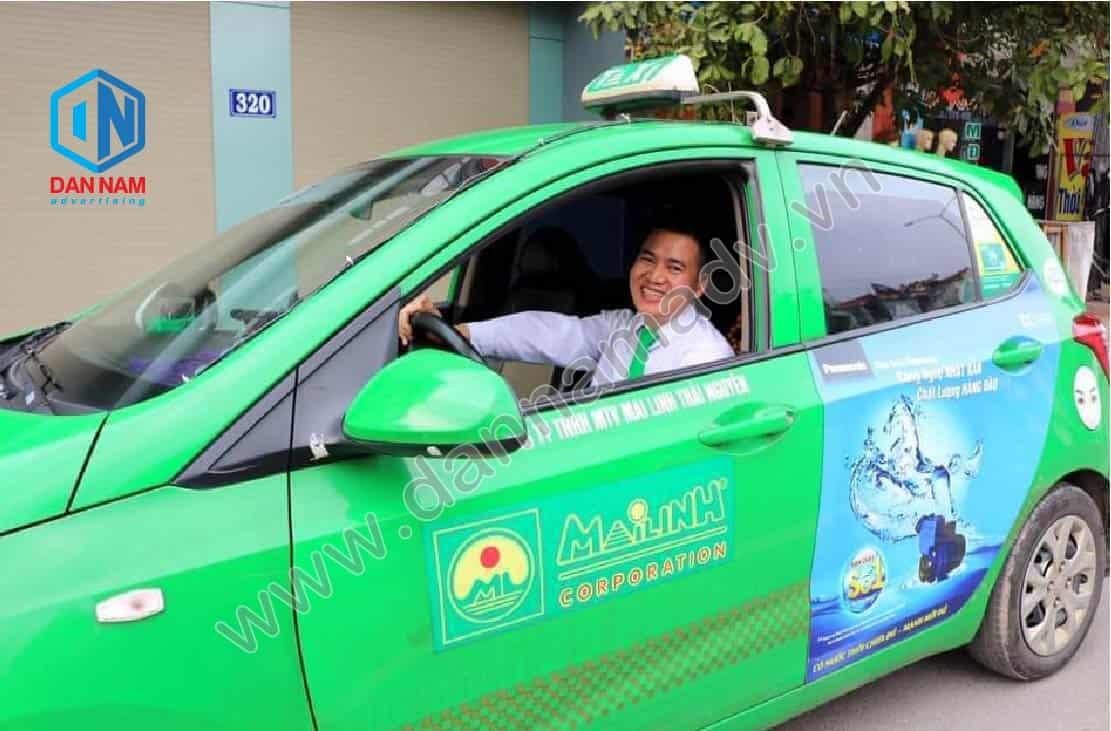Quảng cáo taxi Thái Nguyên