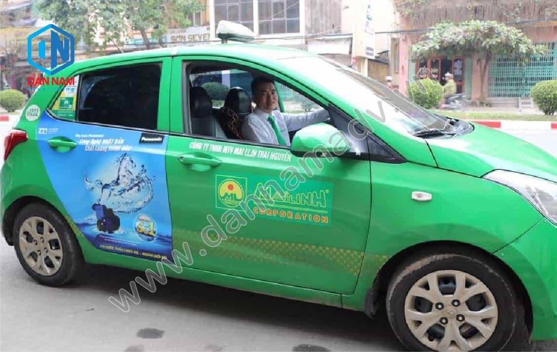 Quảng cáo taxi Thái Nguyên hiệu quả
