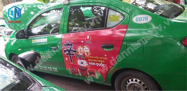 Quảng cáo taxi Tiền Giang