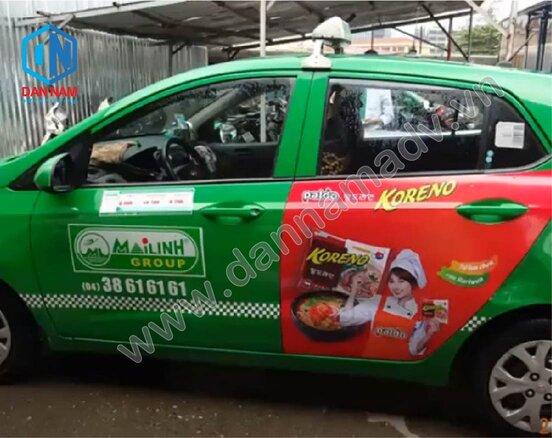 Quảng cáo taxi Trà Vinh