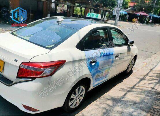 Quảng cáo taxi Vĩnh Long