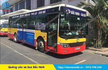 quảng cáo xe bus bắc ninh