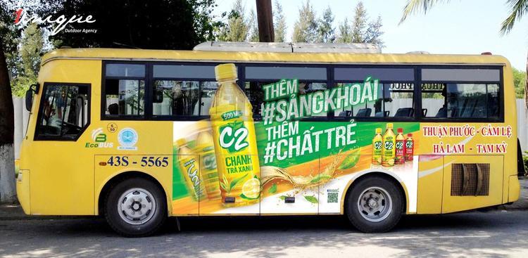 Quảng cáo xe buýt đà nẵng