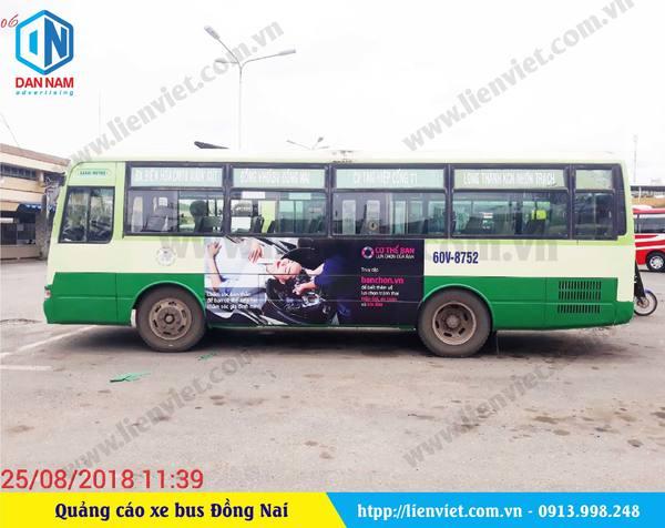 Quảng cáo xe bus Đồng Nai – Tổ chức PSI 1