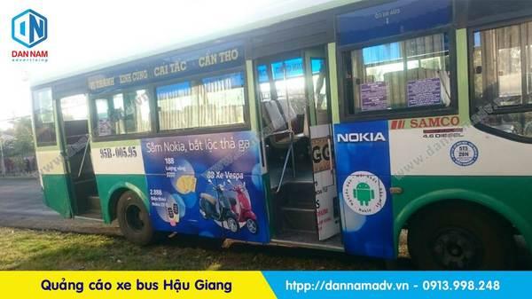 Lộ trình xe bus Hậu Giang