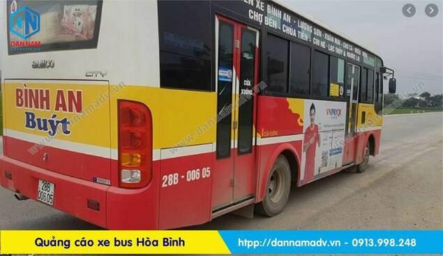 Lộ trình xe bus Hòa Bình