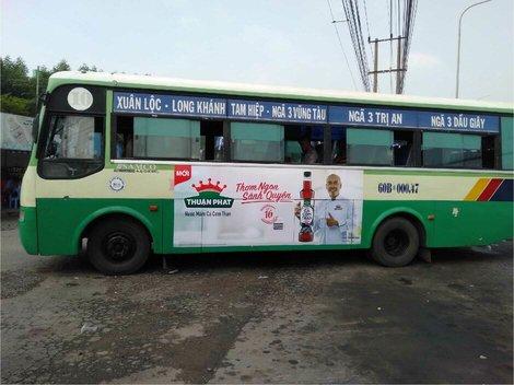 Quảng cáo xe bus miền Nam
