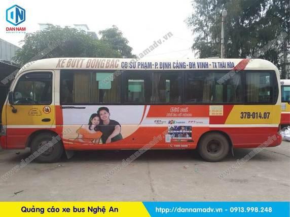 Lộ trình xe bus Nghệ An