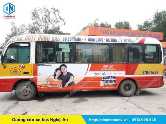 quảng cáo xe buýt nghệ an