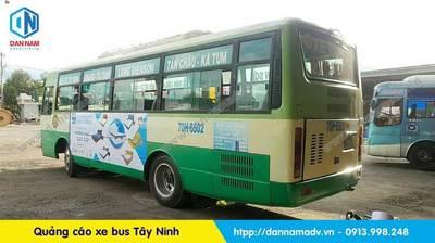 quảng cáo xe buýt tây ninh