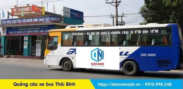 Lộ trình xe bus Thái Bình