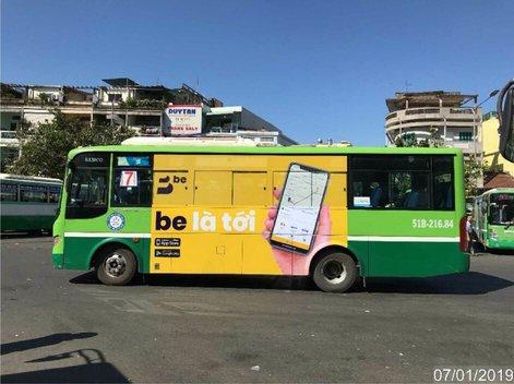 Quảng cáo xe bus HCM