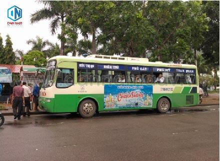 Quảng cáo xe bus bình định