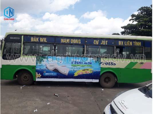 quảng cáo trên xe bus đắk nông