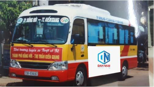 Lộ trình xe bus Quảng Bình
