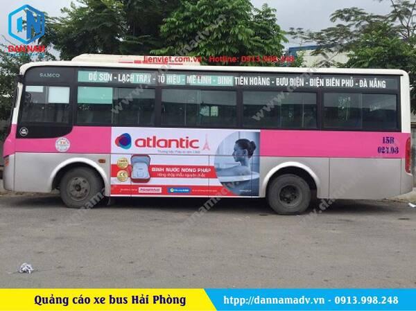 Lộ trình xe bus Hải Phòng