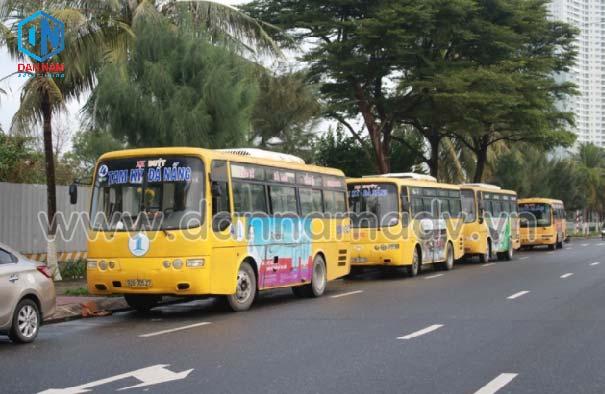 lộ trình xe bus quảng nam