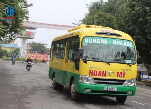 Lộ trình xe bus Quảng Trị