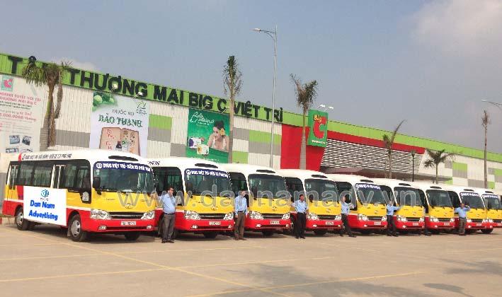Lộ trình xe bus Phú Thọ
