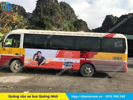 Quảng cáo trên xe bus quảng ninh hiệu quả
