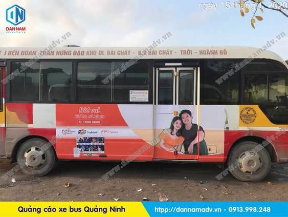 QUẢNG CÁO XE BUS QUẢNG NINH